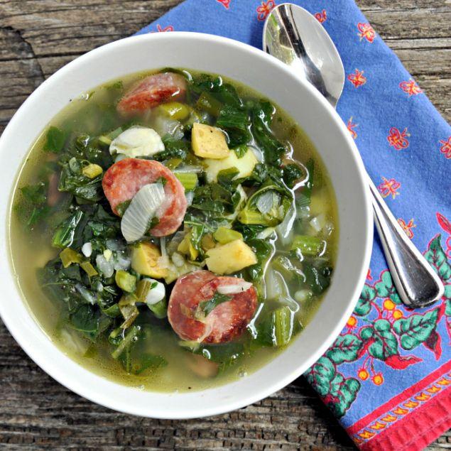 Caldo Verde - Portuguese recipe