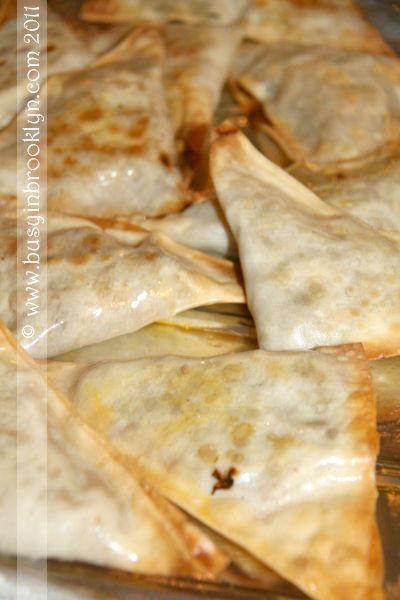 Baked Wonton Beef Empanadas | Bake that Beef! | Pinterest
