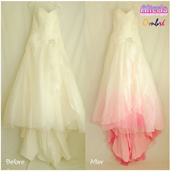 Ombre Wedding Dresses - Wedding Short Dresses