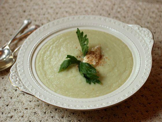 Creamy (no cream) Cauliflower Soup: I make all the time. I count as ...
