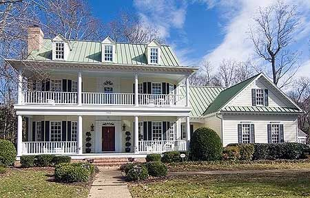 Southern belle house plan Southern plantation house plans