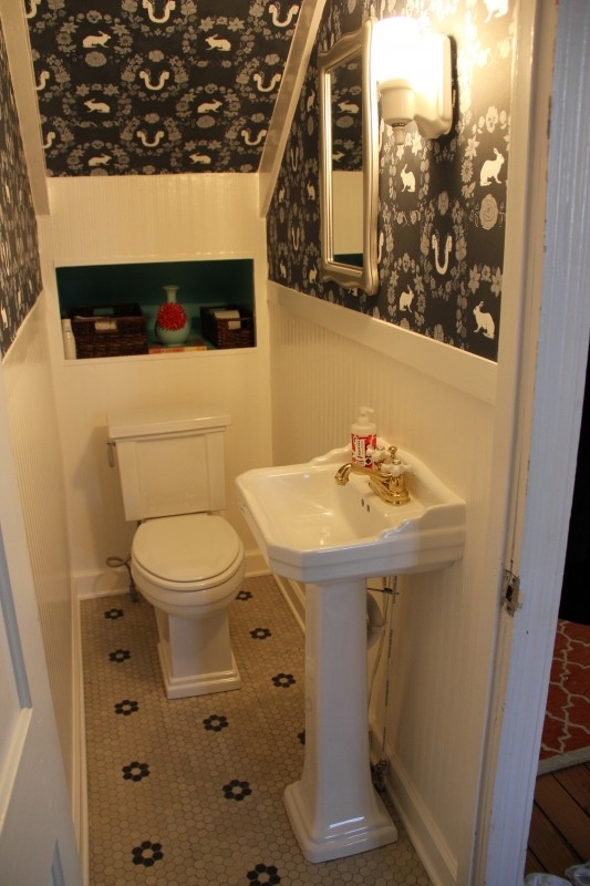 Bathroom Under Front Stairs Upgrades For The Brick Beast Pinter
