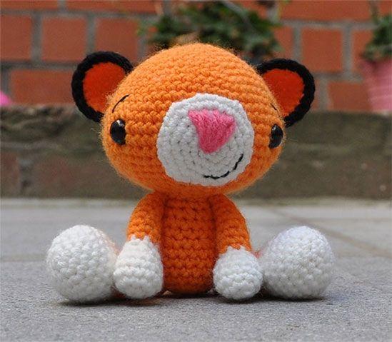 Crochet Pattern For Amigurumi Tiger : Pin by Jessica Gerken on Crochet Pinterest