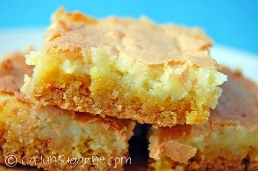 Ooey Gooey Butter Cake | Desserts | Pinterest
