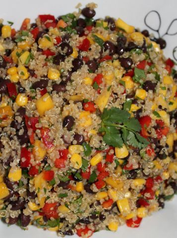 Southwest Quinoa Salad - would change some of the spices but love the ...