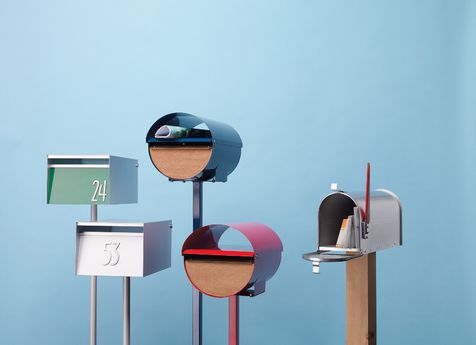 Modern mail boxes