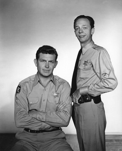 Don Knotts & Andy Griffith | People young & old | Pinterest