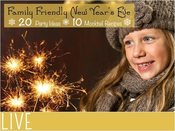 Family New Year's Party Ideas