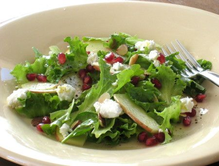 , Pomegranate and Arugula Salad with Apple Cider-Honey Vinaigrette ...