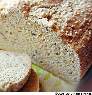 Gluten Free Multi-Grain Sandwich Bread | Gluten free,dairy free ,raw ...
