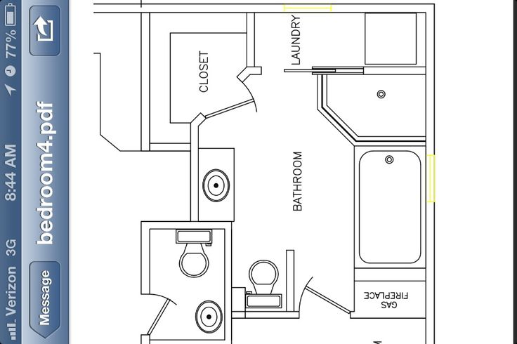 Master Bath Floor Plan Addition Pinterest