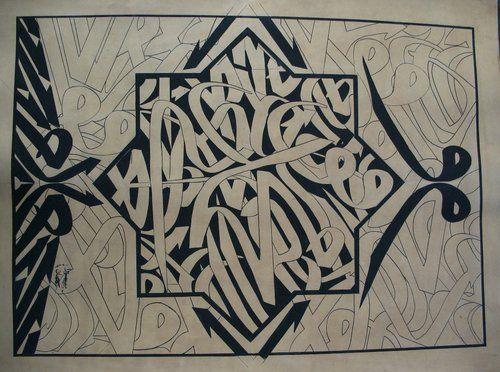 Graffiti arabic calligraphy typography pinterest
