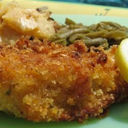 Breaded Parmesan Chicken Allrecipes.com
