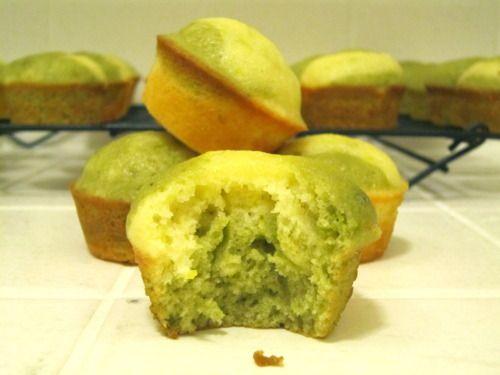 Meyer Lemon and Matcha Marble Pound Cake | Indulge | Pinterest