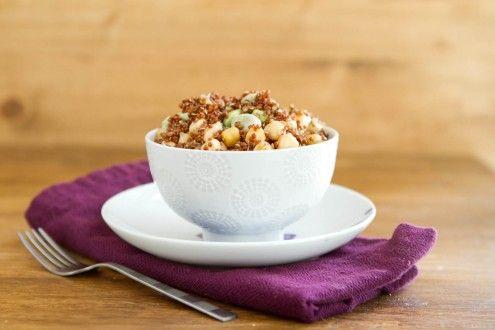 Naturally Ella | Fava Bean and Quinoa Salad