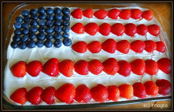 Patriotic Jello Dessert July 4th Ideas Pinterest