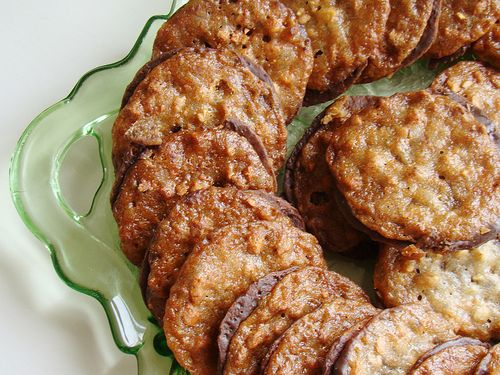 Gluten Free Lace Cookies | G free | Pinterest