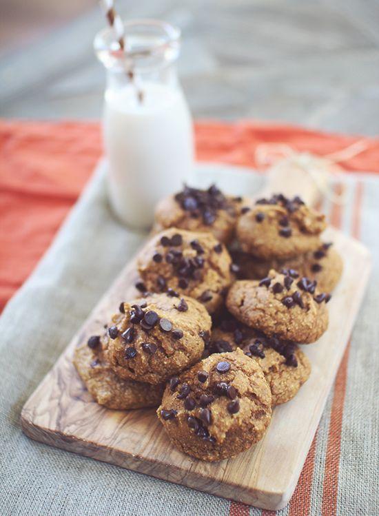 Soft Baked Pumpkin Protein Cookies #Clean Eating #Sugar Free #Gluten ...