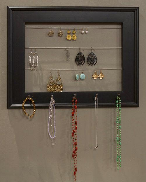 Jewelry Organizer Frame - Martha Stewart Crafts