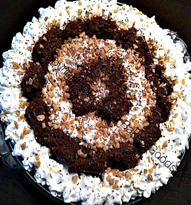 Chocolate Irish Cream Brownie Trifle Pie - For all you Irish Cream ...