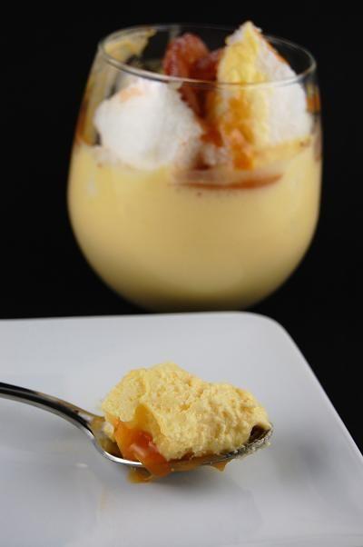 Angel Food Cake and Honey Tangerine Bavarian Trifle