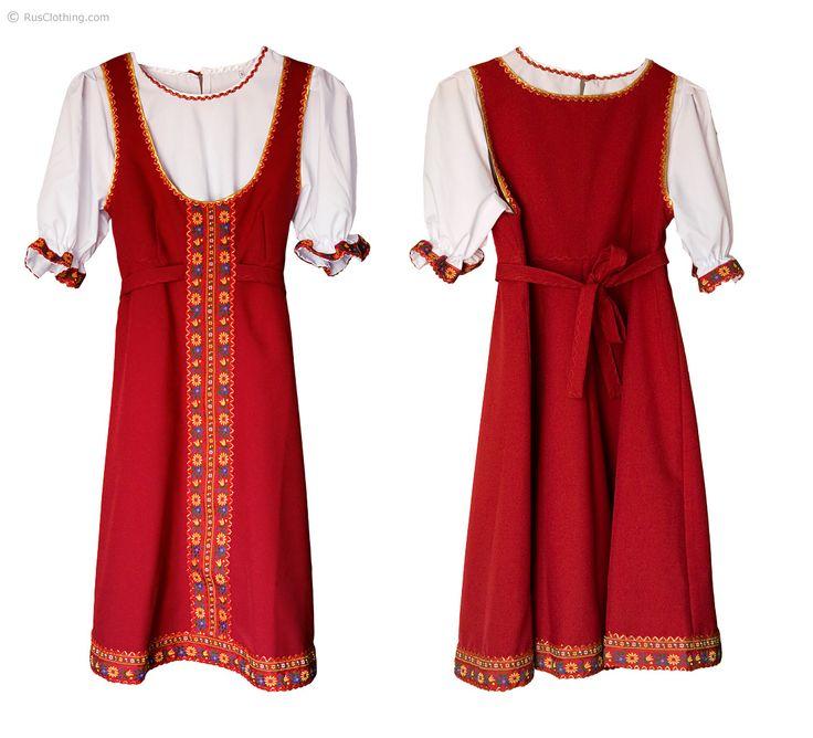 Русские платья