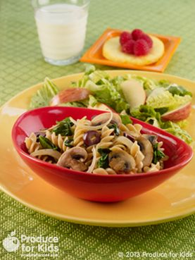 Garden Vegetable Pasta | We have picky eaters. | Pinterest