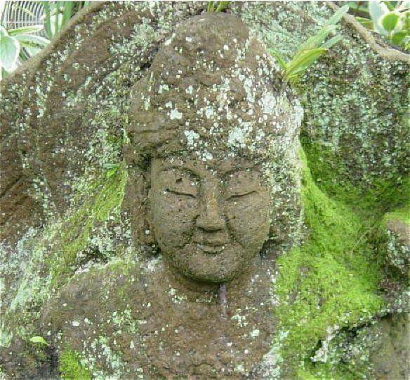 zen Buddha smiles