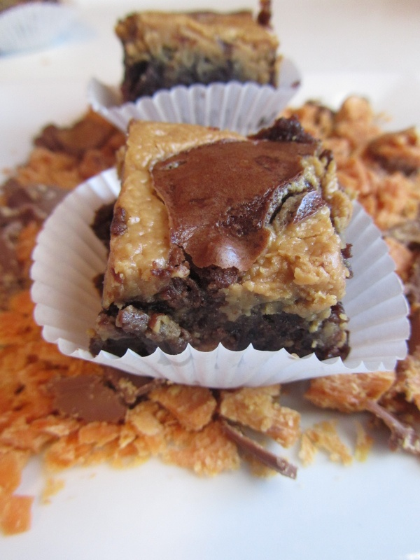 Butterfinger Brownie Bites | Cookies and Bars | Pinterest