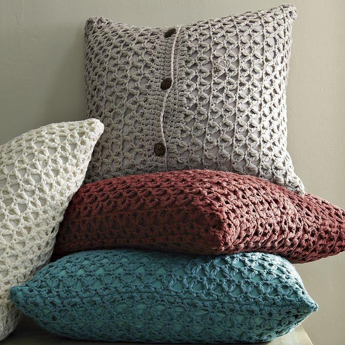 Crochet Pillow : crochet pillows Craftiness Pinterest