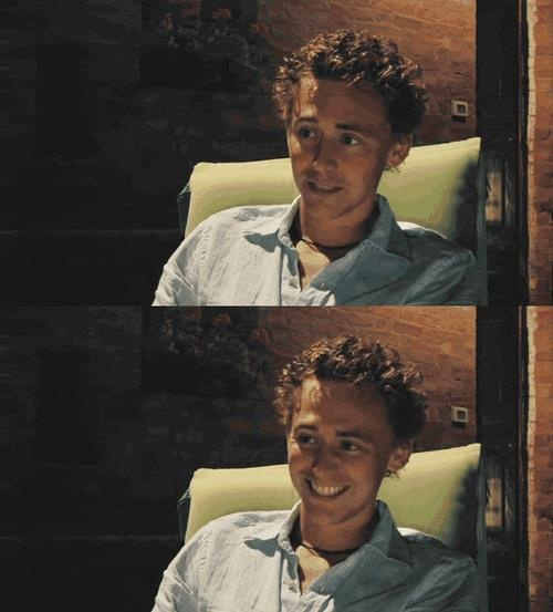 Baby Hiddles, I want to boop your nose.   Tom Hiddleston ...