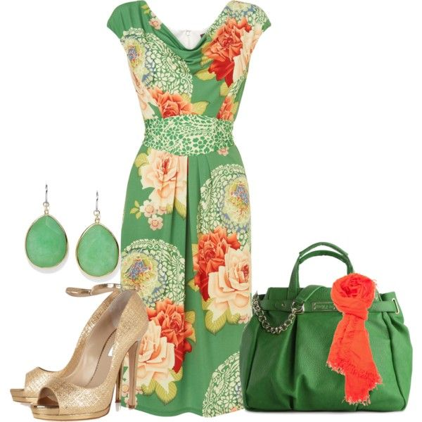 Lady of the Garden, created by jodilambdin on Polyvore