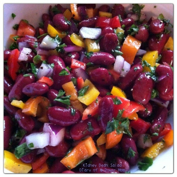 Kidney bean salad | Food i want in me... | Pinterest