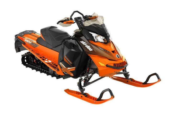Ski Doo Renegade Backcountry X Rotax 800r E Tec Orange