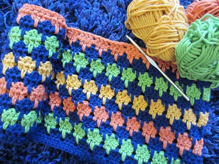 Crochet Stitches Larksfoot : larksfoot crochet stitch Crochet Stitches Pinterest
