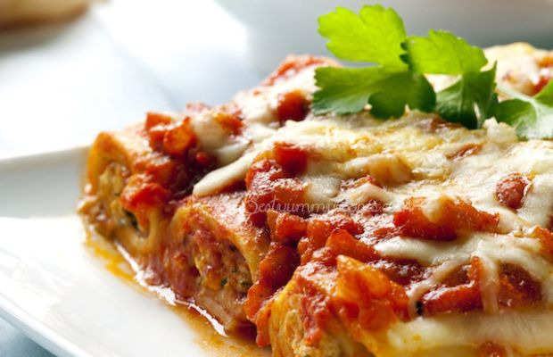 Spinach and Ricotta Cannelloni | Favourite Recipes | Pinterest