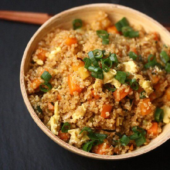 Easy quinoa fried rice