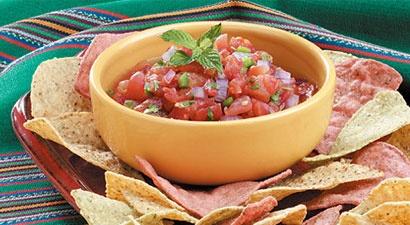 10 Minute Zesty Salsa | Catering | Pinterest