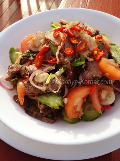 Grilled Beef Salad | Cambodian food | Pinterest