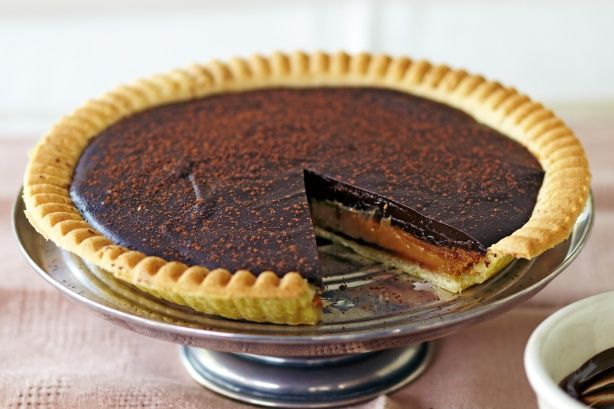 ... night with this delicious make-ahead salted caramel chocolate tart