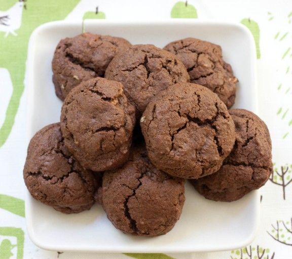 Double Chocolate Espresso Cookies   Chocolate   Pinterest