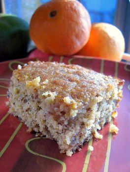 Orange Kiss-Me Cake: very intriguing, you run a whole orange through a ...