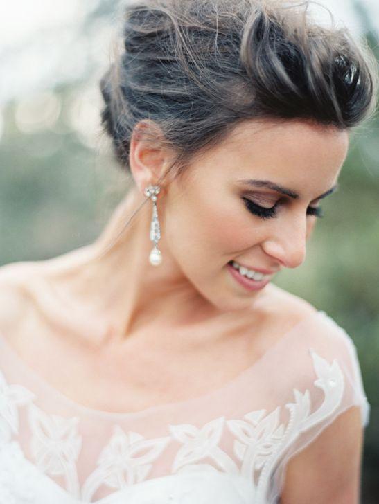 Elegant Wedding Hair And Makeup : Elegant Bridal Looks