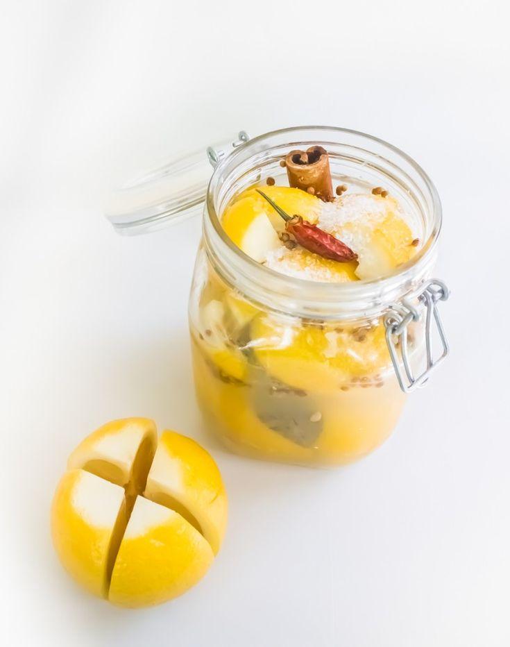 Preserved Meyer Lemons Recipe — Dishmaps