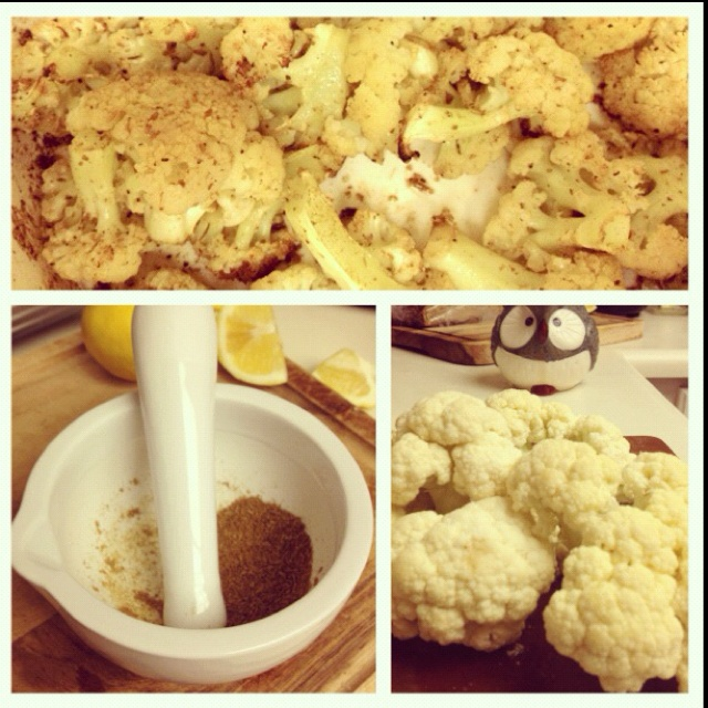 Fall Fest: Cumin Roasted Cauliflower | Recipe