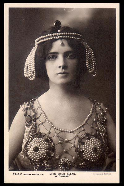 maud allen the salome dancer
