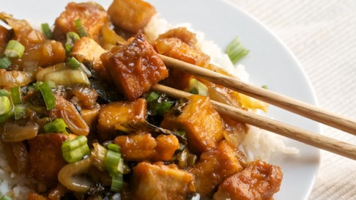 choy sum and shiitake mushrooms sweet and sour eggplant sweet and sour ...