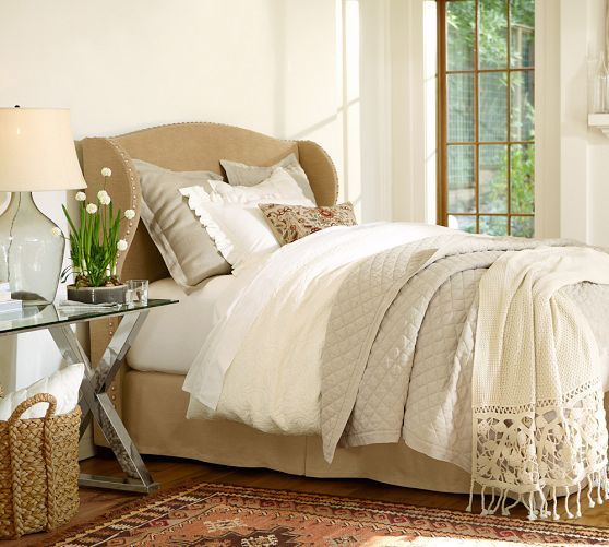 Rustic Luxe R Bedding Oatmeal