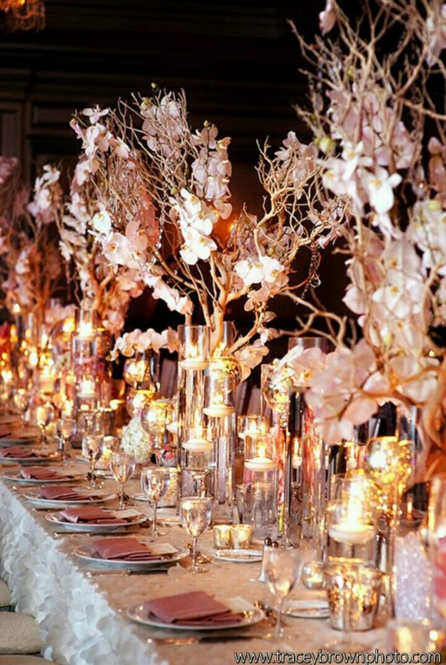 Pinterest Wedding Table Decorations