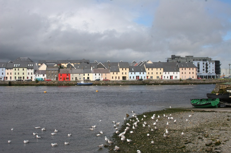 Long Walk Galway City Ireland Ireland Pinterest